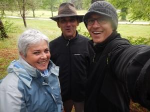 Maryse du DGAL, Eric duCDSMR 33 et Moi.